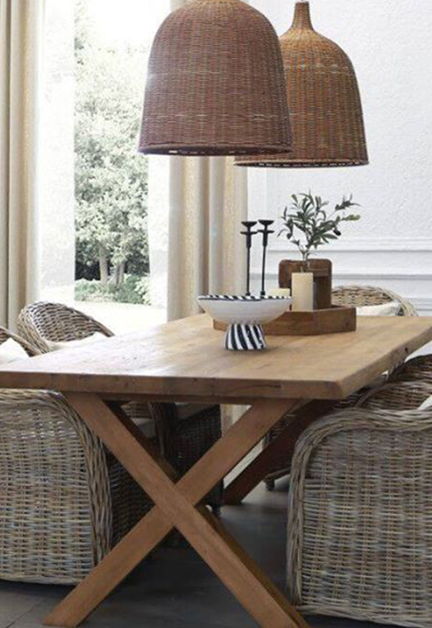 Eettafel 'Alex' | 220×100 | Reclaimed wood