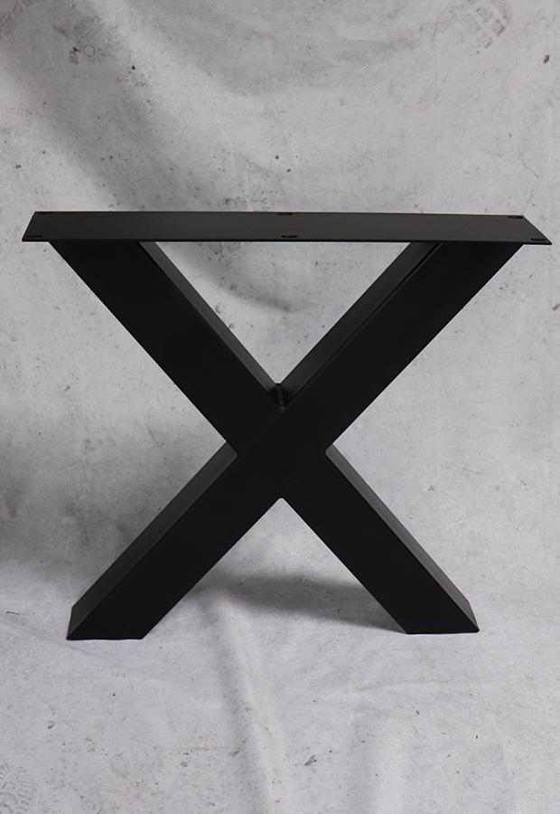 Stalen X-poten
